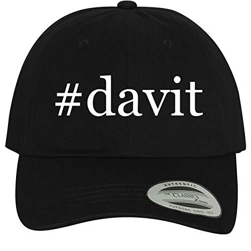 BH Cool Designs #Davit - Comfortable Dad Hat Baseball Cap, Black
