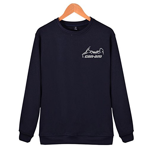 Maggie Duncan Can Am Spyder Roadster RT Embroidered Fleece Crewneck Sweatshirt For Men