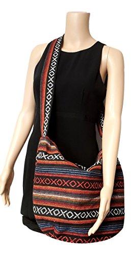 Tapestry Bag Crossbody Xoxo Stripe Large Shoulder Hobo Stripes Sling 5wqxpzfa