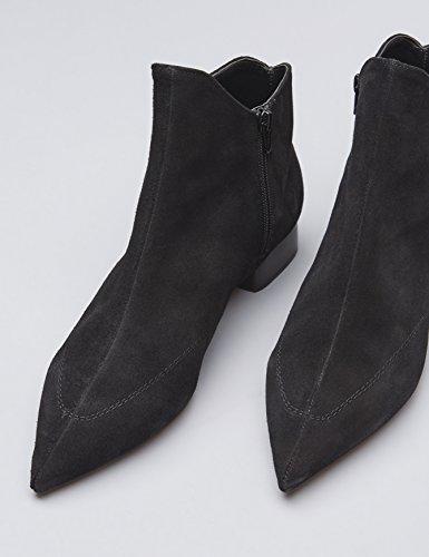 Kvinder Finder Ankel-høje Støvler Med En Spids Foran Sort (sort) 7YtV91S