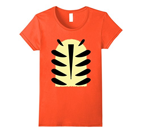 Womens Tiger Stripes Halloween Party Funny DIY T-Shirt Small (Tiger Costume Diy)