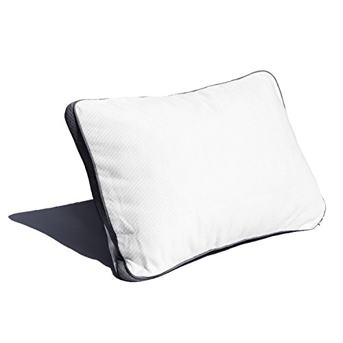 Coop Home Goods - Pillow Protector from Lulltra Fabric - Waterproof and Hypoallergenic - Protect Your Pillow Against Fluids - Oeko-TEX Certified - Toddler/Camping White (Single)