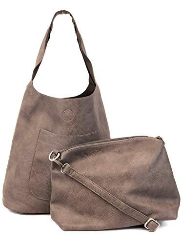 Slouchy Hobo Handbags Joyson Women Handbags Hobo Shoulder Bags Tote Pu Leather Handbags Fashion