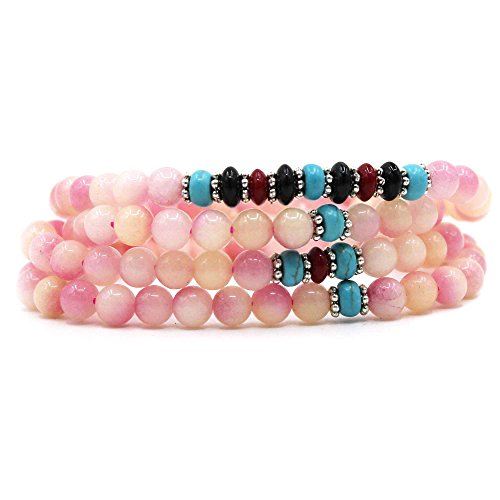 KISSPAT Natural Gemstone Bracelet Crystal