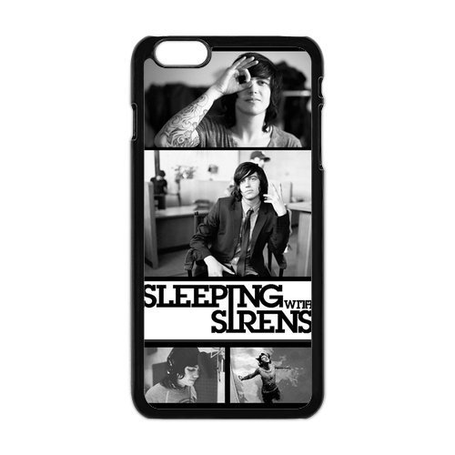 FEEL.Q- Sleeping with Sirens SWS Band Kellin Quinn iPhone 6 Plus Case, Flexible Premium iPhone 6 Plus Case 6+ iPhone Cover (5.5 inch)