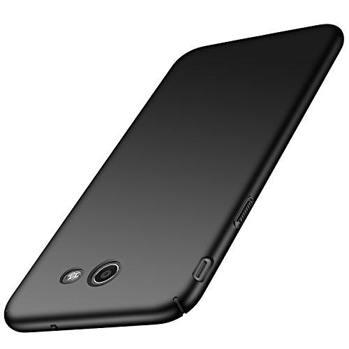 Anccer Galaxy J7 2017 Case, J7 Prime, J7 Sky Pro, J7 Perx Case [Colorful Series] [Ultra-Thin] [Anti-Drop] Premium Material Slim Full Protective Cover for Samsung Galaxy J7 V 2017 (Black)