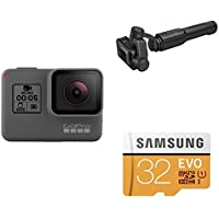 GoPro HERO5 Black w/ Karma Grip and SD Card