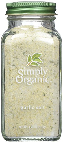Simply Organic, Garlic Salt, 4.7 oz ()