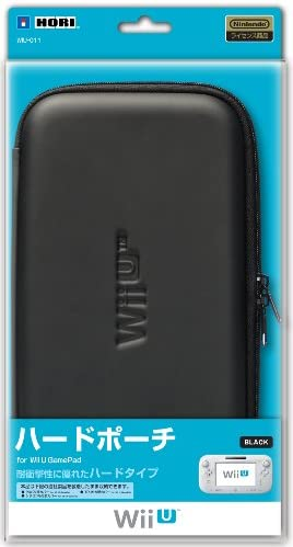 【Wii U】任天堂公式ライセンス商品 ハードポーチ for Wii U GamePad ブラック