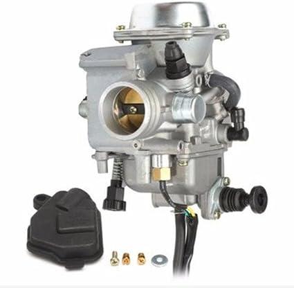 shsyue® Motocicleta Carburador Juego para Honda trx450 ATV ...