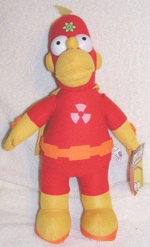 Simpsons Plush 15 Homer Simpson Radioactive Man Doll ()