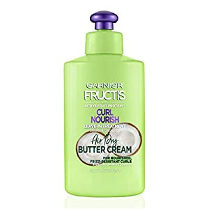 Best Epic Trends 41BMj15jTZL._SS300_ Garnier Hair Care Fructis Triple Nutrition Curl Moisture Leave-in Conditioner, 10.2 Fluid Ounce