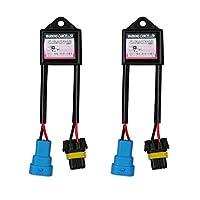 AGPTEK HID Kit Computer Warning Canceller & Anti Flicker (1 Pair), Hid Ballast Error Code Eliminator, APV6