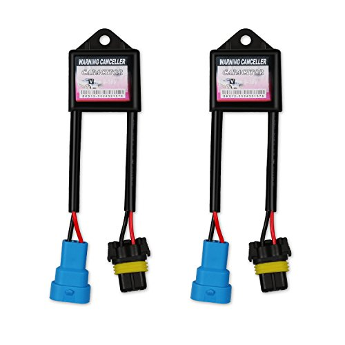 AGPTEK HID Kit Computer Warning Canceller & Anti Flicker (1 Pair), Hid Ballast Error Code Eliminator, APV6