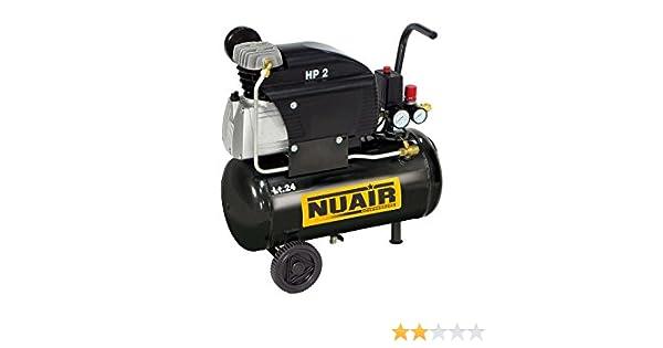 Compresor de aire portátil NUAIR FC2/24 CM2 TECH: Amazon.es: Bricolaje y herramientas