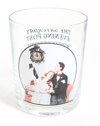 The Saturday Evening Post Norman Rockwell Glassware Collection - Courting at Midnight - Collectible (The Saturday Evening Post Norman Rockwell Glassware Collection)