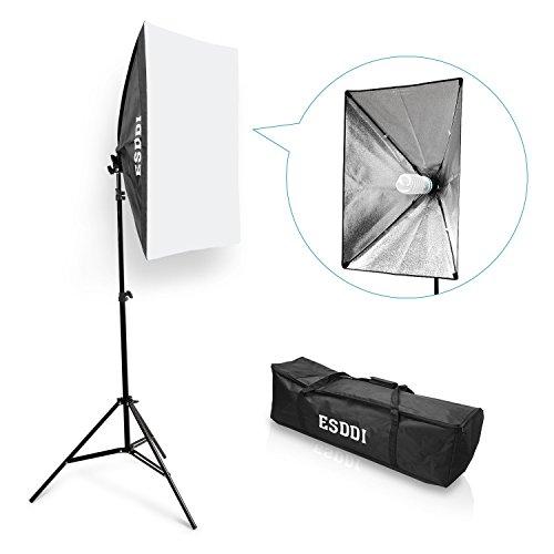 "ESDDI Photography Softbox Portable Lighting Kit Photo Equipment Studio Light 20""X28"" for Portrait Video and Advertising Shooting from ESDDI"