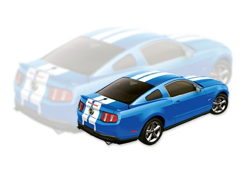 Mustang Lemans Stripe - Mustang 2010 2011 2012 Lemans Over Roof OEM Quality Dual Stripes & Decals Kit with Hood Scoop - Silver