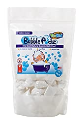 TruKid Bubble Podz, Natural Bubble Bath for sensitive skin, Yumberry Scent, Family Size, 60 count