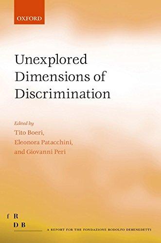 Unexplored Dimensions of Discrimination (Fondazione Rodolfo Debendetti Reports) ()