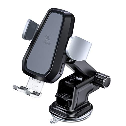 VANMASS Wireless Car Charger, Auto-Clamp Qi Car Mount, 10W/7.5W Fast Charging & Standard 5W Charger, Windshield Dashboard Air Vent Phone Holder Compatible with iPhone X/8/8 Plus, Samsung S9 S8, Note 9 ()
