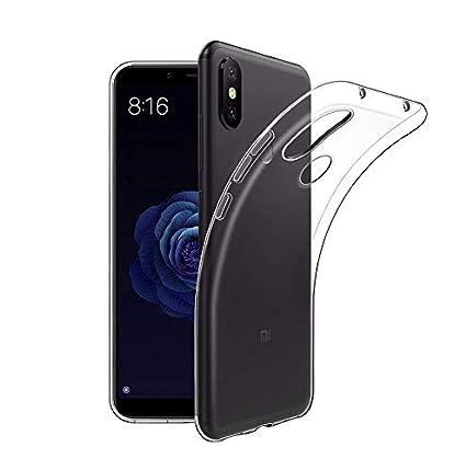 Funda Xiaomi Mi A2 Lite, Carcasa Xiaomi Mi A2 Lite TPU Funda Anti-Rasguño Anti-Golpes Cover Protectora TPU Caso Bumper Slim Silicona Case Para Xiaomi ...