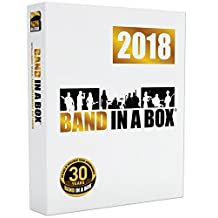 Band-in-a-Box 2018 Pro [Windows DVD-ROM] - Create your own backing tracks