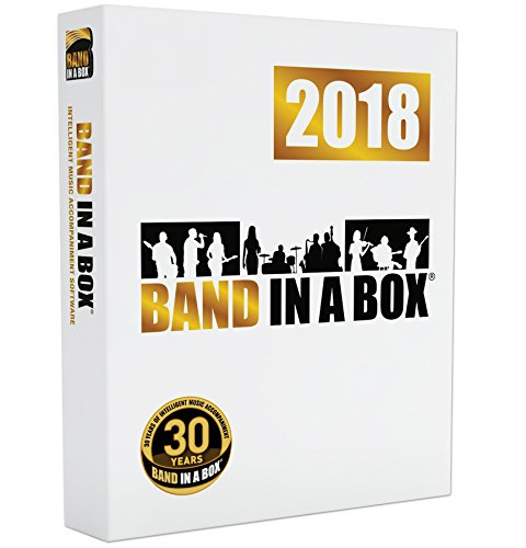 Band-in-a-Box 2018 Pro [Windows DVD-ROM] - Create your own backing ()