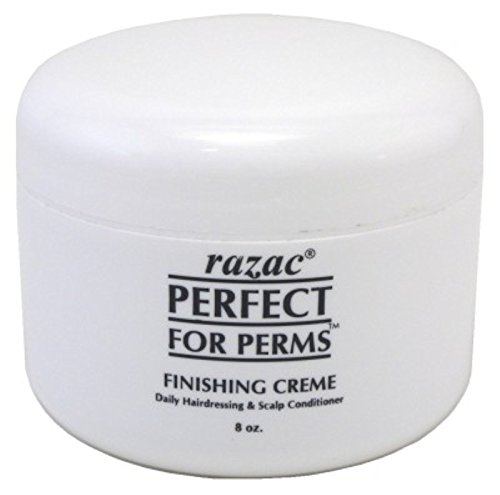 Perm Your Hair (Razac Perfect For Perms Finish Creme 8 Ounce (235ml) (2 Pack))
