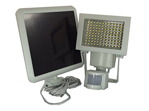 Cheap 108 SMD LEDs Bright Outdoor Solar Motion Sensor Light – White, 1100 lumen, Time and 3 Intelligent Modes Adjustable, Waterproof For Wall , Patio, Garden, Landscape, Deck, Shed, Lawn