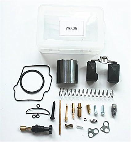 Amazon motorcycle repair kit 36 38 40 mm for pwk keihin oko motorcycle repair kit 36 38 40 mm for pwk keihin oko koso carburetor carburador universal repair fandeluxe Choice Image