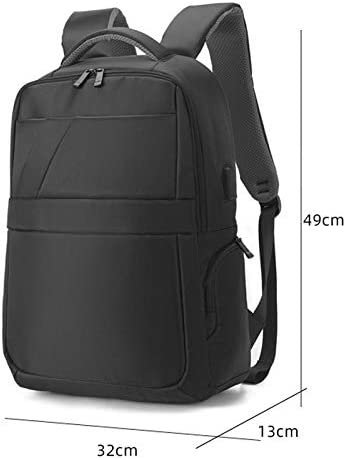 YG-yg Ftf-sjb Laptop Backpack Backpack Travel Bag High-Capacity Simple Fashion with USB Interface Men and Women Backpack Laptop Backpack Schoolbags