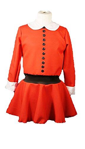 Annie Musical Costumes (New World Book Day-Willie Wonka-Dahl VERRUCA SALT or ANNIE Child's Fancy Dress Costume - All Sizes (LADIES 14))
