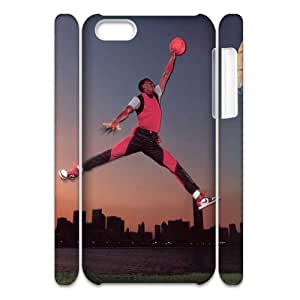 FLYBAI Michael Jordan Phone 3D Case For Iphone 5C [Pattern-4]