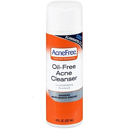 AcneFree Acne Cleanser, 8-Ounces (Pack of 3) Acnefree Cleanser