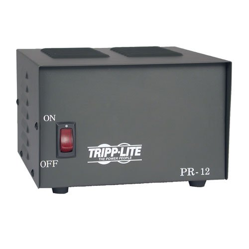 Tripp Lite PR12 12-Amp DC Power Supply 120VAC Input to 13.8VDC - Supply Lite Power