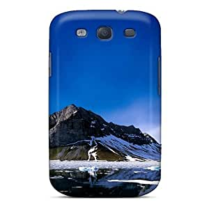 For Galaxy S3 Premium Tpu Case Cover The Ice Flow Protective Case