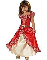 Disney - Disfraz de Elena de Avalor Deluxe para niña, infantil 5-7 años (Rubie's 630038-M)
