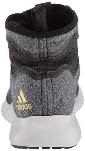 adidas Women's Edgebounce, Black/Gold Metallic, 5 M US by adidas (Image #2)