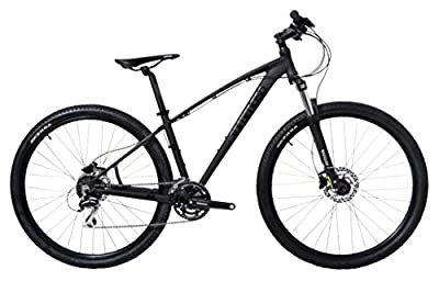 Tommaso 2018 Gran Sasso 29er Mounain Bike Hydraulic Disc Hardtail Best Looking MTB Matte Black 100mm Travel Suspension
