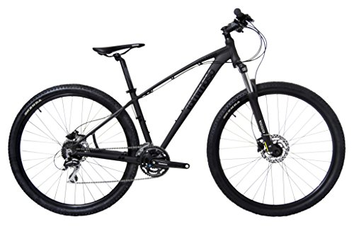 Tommaso 2019 Gran Sasso 29er Mounain Bike Hydraulic Disc Hardtail Best Looking MTB Matte Black 100mm Travel Suspension (Best Commuter Bicycle 2019)