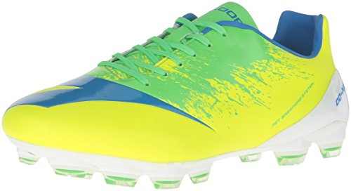 Diadora Men's DD-NA 4 GLX 14 Soccer Shoe, Yellow Fluo/Green, 11 M (Diadora Footwear)