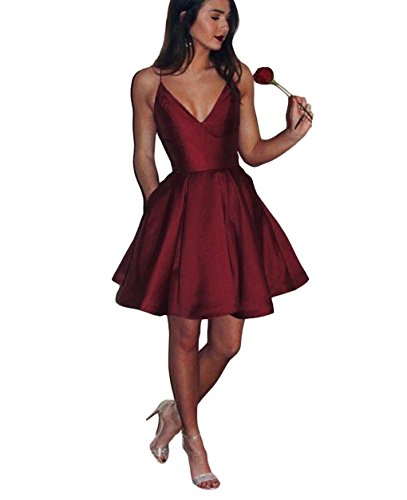 formal spaghetti strap dress - 7