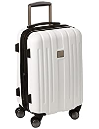 Calvin Klein Cortlandt 3.0 20-Inch Upright Carry-On Suitcase, White, One Size