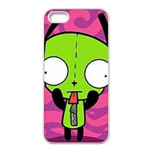 WWWE Cartoon cute green characters Cell Phone Case for Iphone ipod touch4