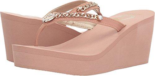 Guess Metallic Sandals (G by GUESS Women's Saleen Blush 10 M US)