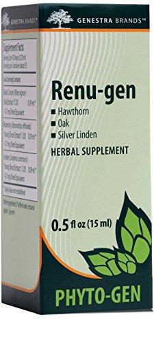 Genestra Brands - Renu-gen - Hawthorn, Oak, and Silver Linden Herbal Supplement - 0.5 fl. oz. by Genestra Brands (Image #4)'