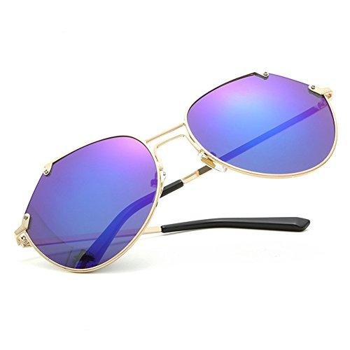 NIFG sol sol de unisex Gafas irregulares grande caja B de gafas gwOxgSrqn6