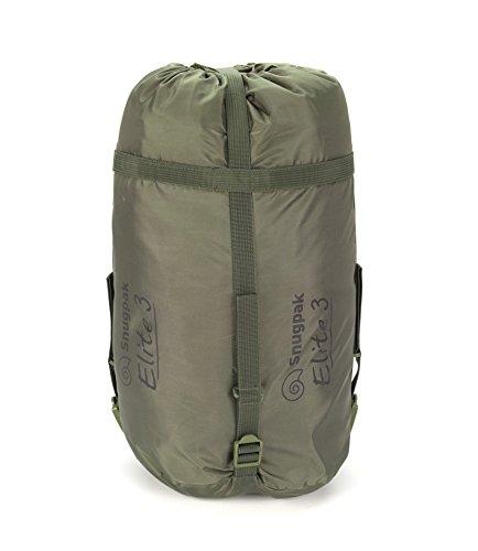 SnugPak Softie Elite 3 - Saco de Dormir, 92820, Verde Oliva: Amazon.es: Deportes y aire libre