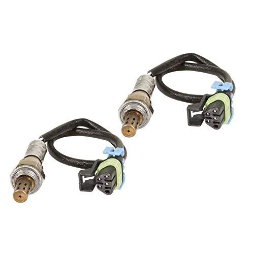2 Pack Oxygen Sensor Premium Upstream Oxygen O2 Sensor 234-4669 For Cadillac Escalade Esv Ext Hummer H2 6.0L 2015-2003 1500 2500 3500
